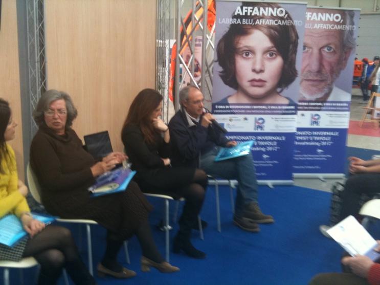 AIPI - Conferenza Stampa Giornata Mondiale Ipertensione Polmonare - BigBlu Salone Nautico Roma